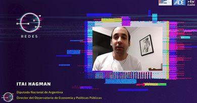 """Itai Hagman: """"La pandemia desnuda falencias y problemas que son previos"""""""